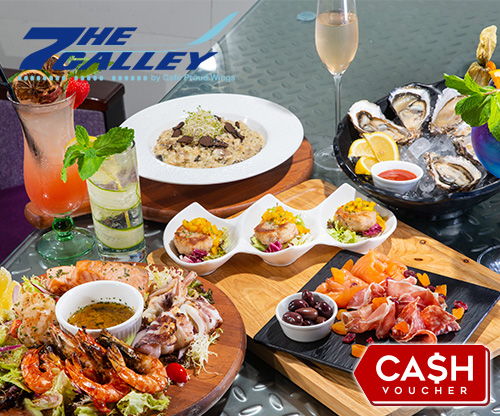 The Galley by Cafe Proud Wings $100現金券